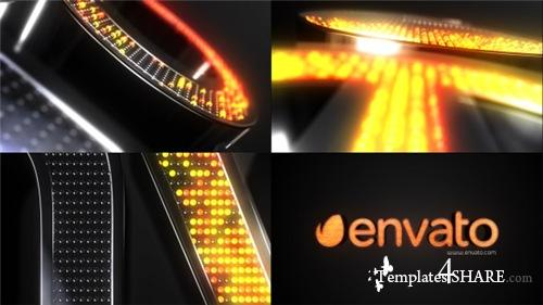 Neon Spheres Element 3D Opener - After Effects Project (Videohive)