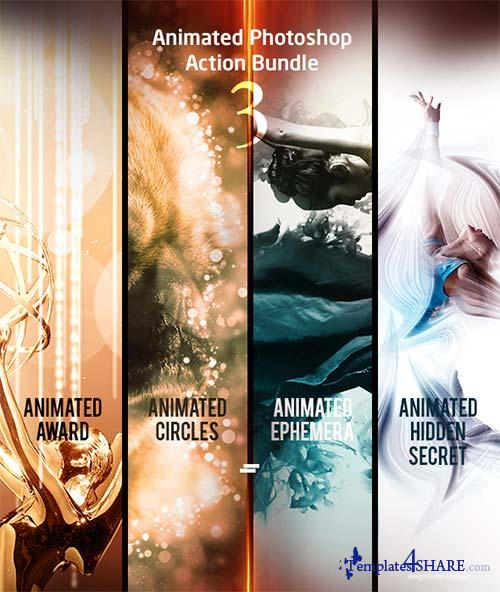 GraphicRiver Animated Photoshop Action Bundle 03