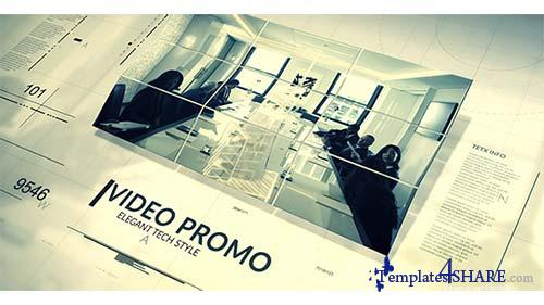 Tech Style Promo - After Effects Project (Videohive)