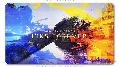 Inks Forever Parallax Slideshow - After Effects Project (Videohive)