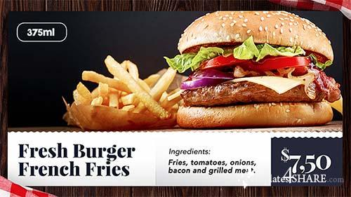 Food Slideshow - After Effects Project (Videohive)