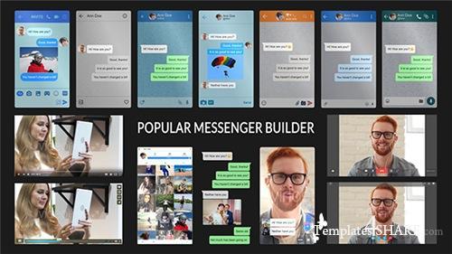 Popular Messenger Builder v2.0 - After Effects Project (Videohive)