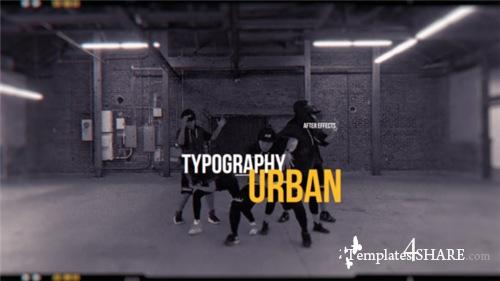 Urban Opener 21091341 - After Effects Project (Videohive)