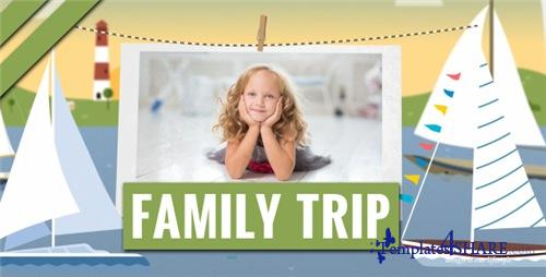 Family Trip - After Effects Project (Videohive)