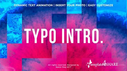 Typo Intro - After Effects Project (Videohive)