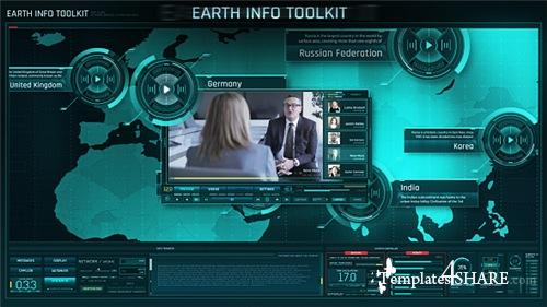 Earth Info Toolkit - After Effects Project (Videohive)