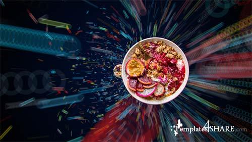 Dynamic 4K Food Menu - After Effects Project (Videohive)