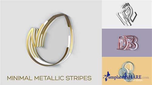Minimal Metallic Stripes Reveals - After Effects Project (Videohive)