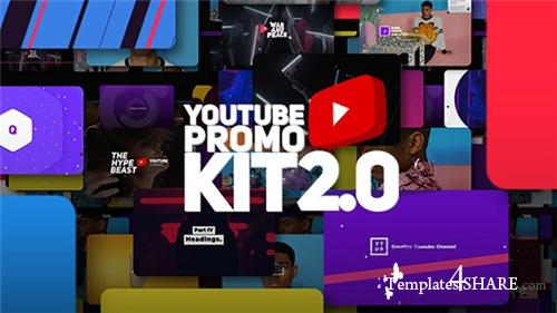 Youtube Promo Kit 2.0 - After Effects Project (Videohive)