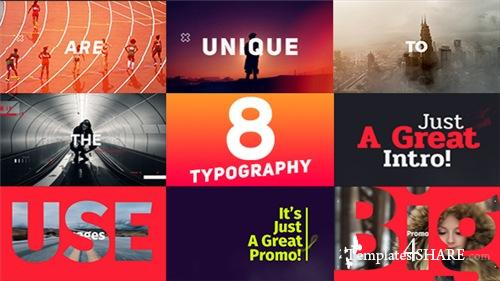 Typography Promo - After Effects Project (Videohive)