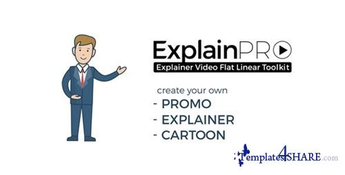 ExplainPRO. Explainer Video Flat Linear Toolkit. - After Effects Project (Videohive)