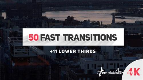 Fast Transitions - After Effects Project (Videohive)