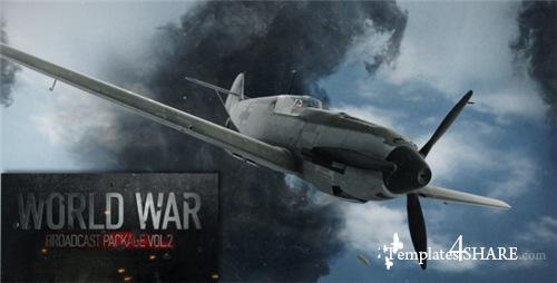 World War Broadcast Package Vol.2 - After Effects Project (Videohive)