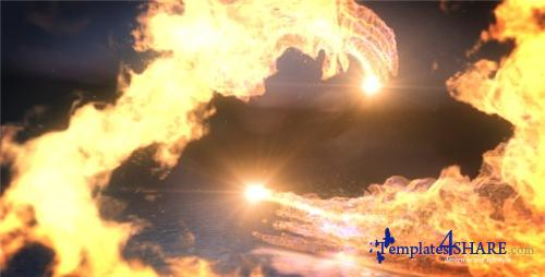 Fire Dance Logo Reveal - After Effects Project (Videohive)