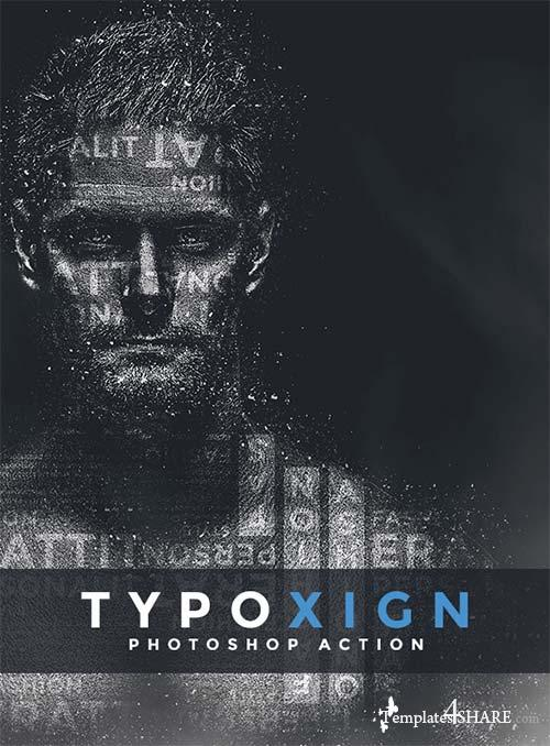 GraphicRiver Typoxign | PS Action