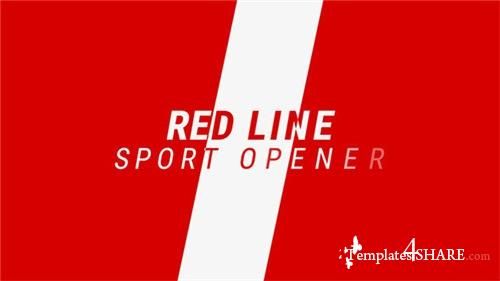 Red Line / Sport Promo - After Effects Project (Videohive)