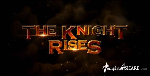 The Knight Rises - Cinematic Trailer - After Effects Project (Videohive)