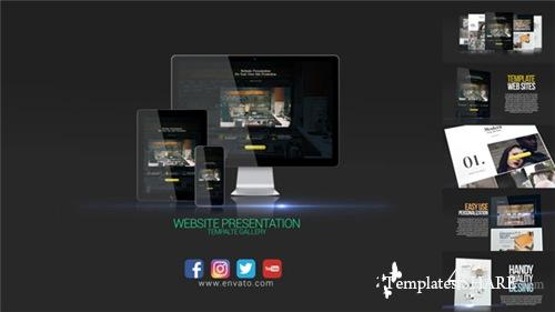 Website Presentation 19292817 - After Effects Project (Videohive)