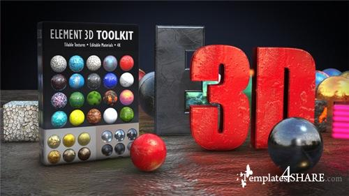 Element 3D Toolkit - After Effects Project (Videohive)