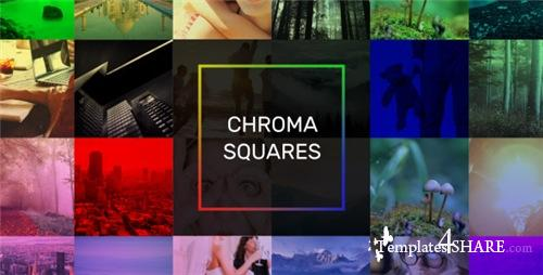 Chroma Squares Dynamic Slideshow - After Effects Project (Videohive)
