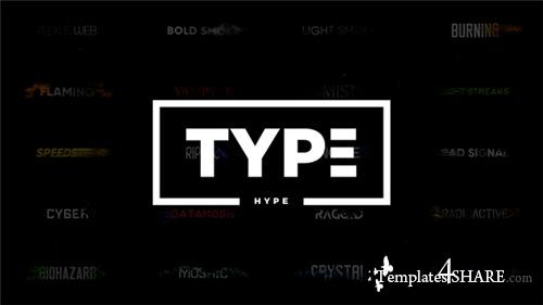 TypeHype - Titles Animation  Motion Typography Text - After Effects Project (Videohive)