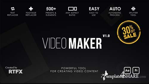 Video Maker - After Effects Project (Videohive)
