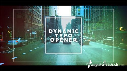 Dynamic Typo Opener - After Effects Project (Videohive)