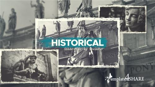 Historical Vintage Documentary Slideshow - After Effects Project (Videohive)