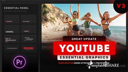 Youtube Essential Library - After Effects Project (Videohive)