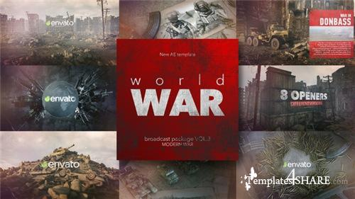 World War Broadcast Package vol.3 - After Effects Project (Videohive)