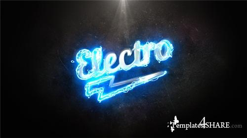 Electro Light Logo - After Effects Project (Videohive)