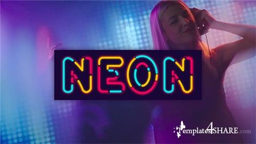 Neon Alphabet - After Effects Project (Videohive)