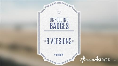 Wedding Badges - After Effects Project (Videohive)