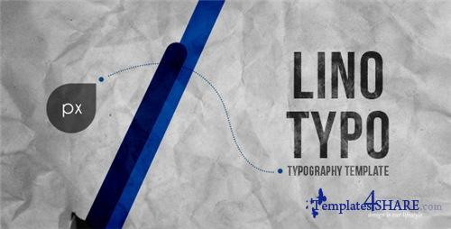 Lino Typography - After Effects Project (Videohive)