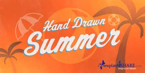Hand Drawn Summer - After Effects Project (Videohive)