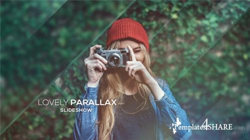 Lovely Parallax Slideshow - After Effects Project (Videohive)
