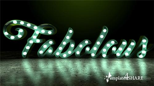 Light Bulb Sign - After Effects Project (Videohive)
