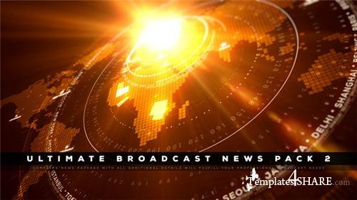 Ultimate Broadcast News Pack 2 - After Effects Project (Videohive)