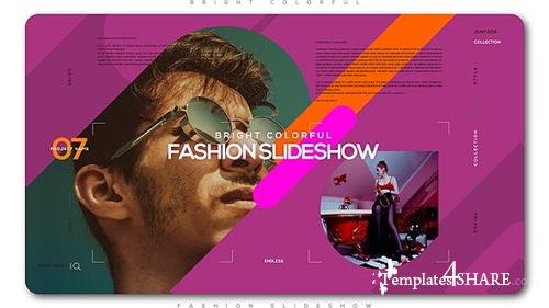 Bright Colorful Fashion Slideshow - After Effects Project (Videohive)
