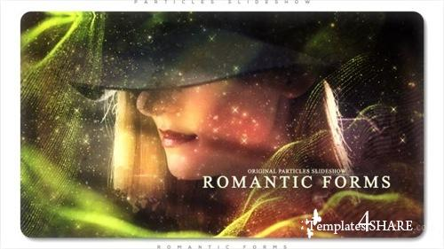 Romantic Forms Particles Slideshow - After Effects Project (Videohive)