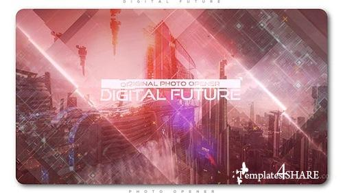 Digital Future Photo Opener - After Effects Project (Videohive)