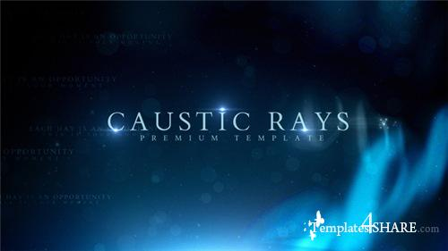 Caustic Rays Titles - After Effects Project (Videohive)