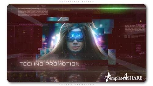 Scientific Slides Techno Promotion - After Effects Project (Videohive)