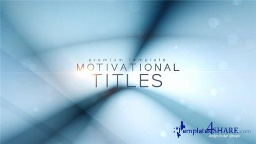 Motivational Titles - After Effects Project (Videohive)