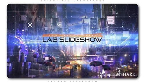 Scientific Laboratory Techno Slideshow - After Effects Project (Videohive)