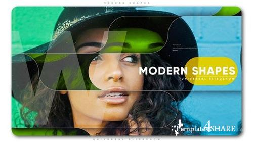 Modern Shapes Universal Slideshow - After Effects Project (Videohive)