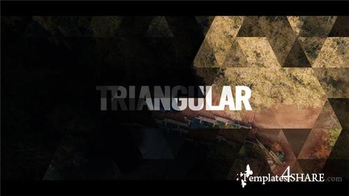 Triangular Opener - After Effects Project (Videohive)