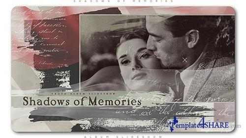 Shadows of Memories Album Slideshow - After Effects Project (Videohive)