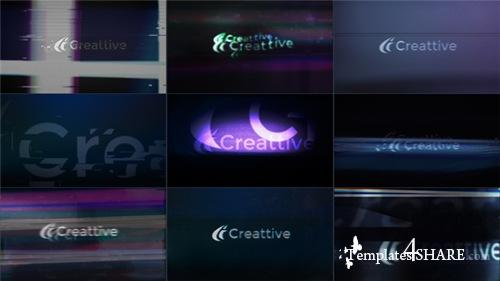 Quick Logo Sting Pack 08: Glitch & Distortion - After Effects Project (Videohive)
