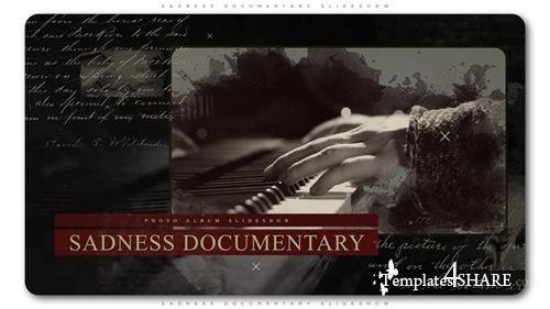 Sadness Documentary Slideshow - After Effects Project (Videohive)
